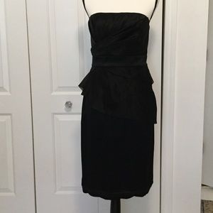 Black cocktail party dress wedding formal Size 8